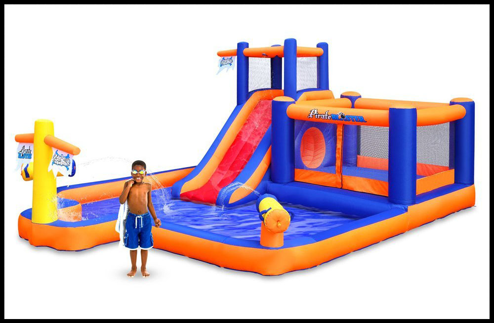 pirate bay inflatable water park review